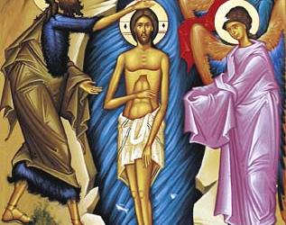 January 8, 2017 Sunday after Theophany, Octoechos 1; Our Venerable Father George the Chosebite (610-41); Our Venerable Mother Dominica (474-91); and Emilian the Confessor