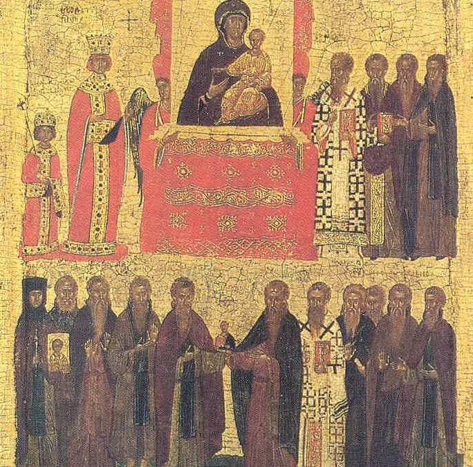 March 5, 2017 First Sunday of the Great Fast; Sunday of Orthodoxy; Octoechos Tone 1; Holy Martyr Conon (249-251)