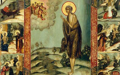 April 2, 2017 Fifth Sunday of the Great Fast; Venerable Mother Mary of Egypt; Octoechos Tone 5; Our Venerable Father Titus the Wonderworker; Passing into Eternal Life (1959) of Blessed Mykola (Nicholas) Charnetsky, Exarch of Volhynia and Confessor