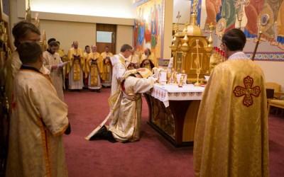 Photos: Fr. Jim Nakonechny's Ordination and First Liturgy