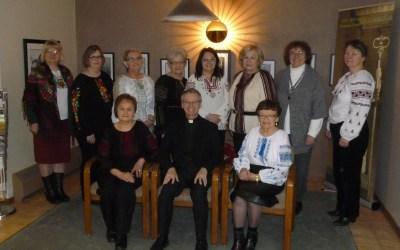 Photos: Christmas Carolling for Bishop David