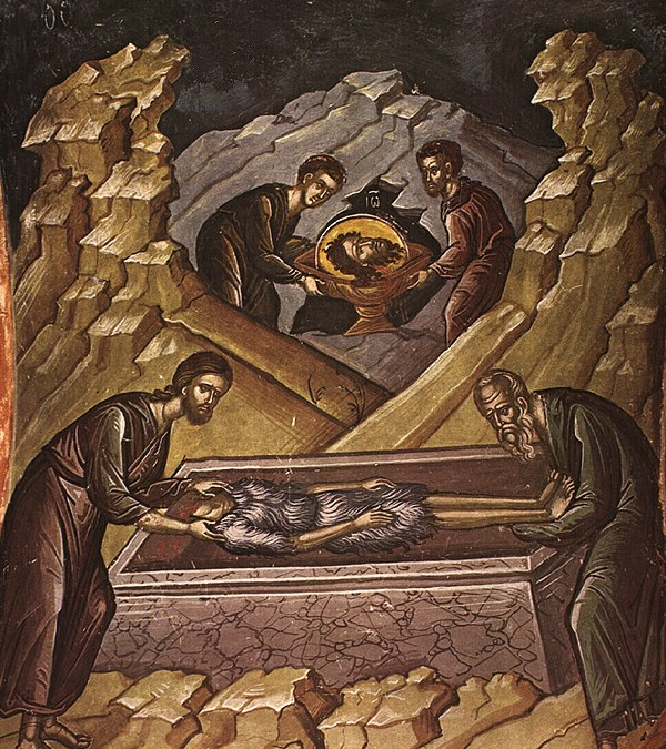 May 26, 2017 Post-feast of the Ascension; Third Finding of the Precious Head of the Holy, Glorious Prophet, Forerunner and Baptist John; The Holy Apostle Carpus, One of the Seventy Disciples