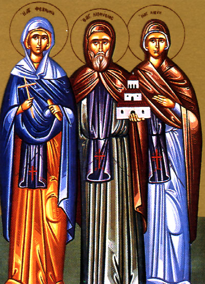 June 25, 2017 Third Sunday after Pentecost, Octoechos Tone 2; The Holy Venerable-Martyr Febronia