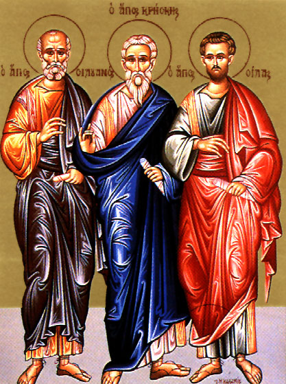 July 30, 2017 Eighth Sunday after Pentecost; Octoechos Tone 7; Holy Apostles Silas and Silvanus and those with them