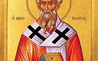 September 3, 2017 Thirteenth Sunday after Pentecost, Octoechos Tone 4; Holy Priest-Martyr Anthimus, Bishop of Nicomedia (303); Our Venerable Father Theoctistus, Fellow-Ascetic of the Great Euthymius (467)