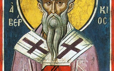 October 22, 2107; Twentieth Sunday after Pentecost; Octoechos Tone 3; Holy Wonderworker and Equal-to-the-Apostles Abercius, Bishop of Hieropolis (523)