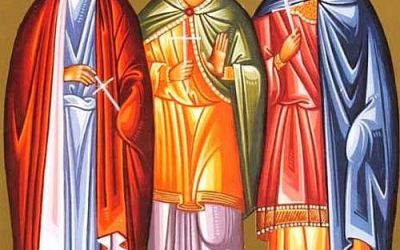 December 10; Twenty-Seventh Sunday after Pentecost; Octoechos Tone 2; The Holy Martyrs Menas, Hermogenes and Eugraphus
