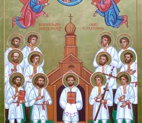 Jan 10; Post-feast of Theophany; Holy Martyrs of Pratulyn; Our Holy Father Gregory, Bishop of Nyssa (after 394); the Venerable Dometian, Bishop of Miletene (582-602); Our Venerable Father Marcian, Presbyter and Econome of the Great Church (450-57)