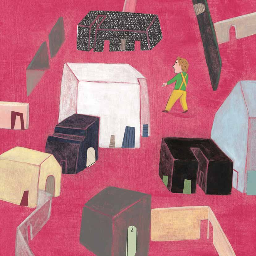 Interior illustration by Barbara Nascimbeni for Our Father