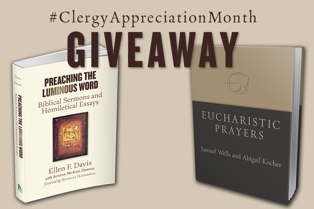 Clergy Appreciation Giveaway: Preaching & Praying Prize Pack