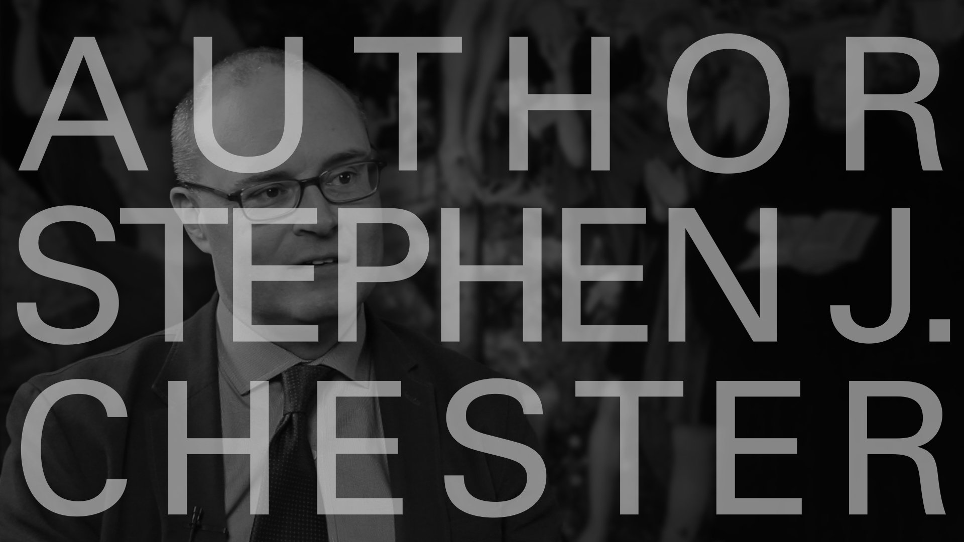 Eerdmans Author Interviews: Stephen J. Chester on <i>Reading Paul with the Reformers</i>