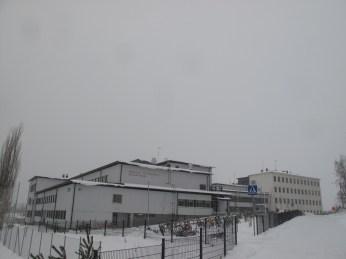 Toijalan yhteiskoulu ja Akaan lukion Toijalan toimipiste (Joulukuu 2012)