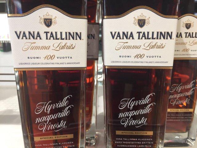 Liviko toodab Soome juubeliks spetsiaalset Vana Tallinna lagritsalikööri