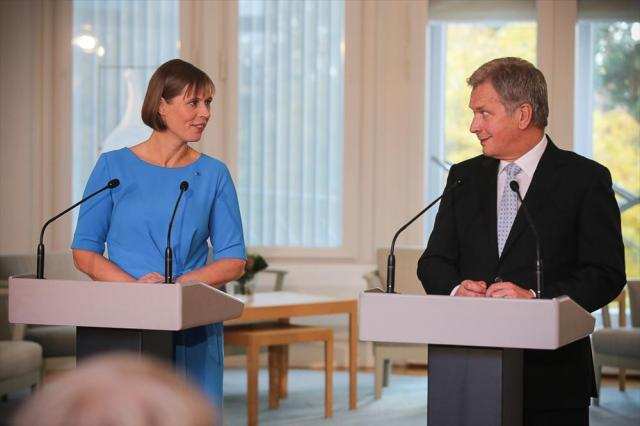 President Kaljulaid sõidab täna töövisiidile Soome