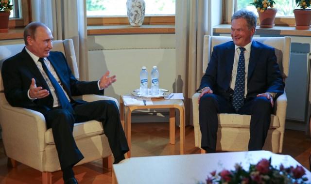Vene president külastab juuli lõpus Soomet