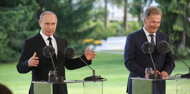 Soome president suhetest Putiniga: Vihaga ei saavuta midagi
