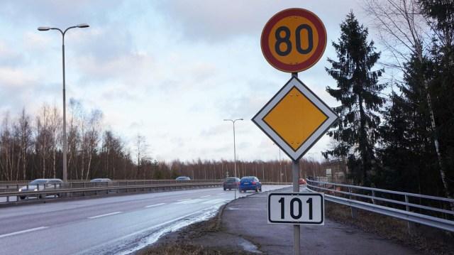 Soomes saab tänasest kiiremini sõita