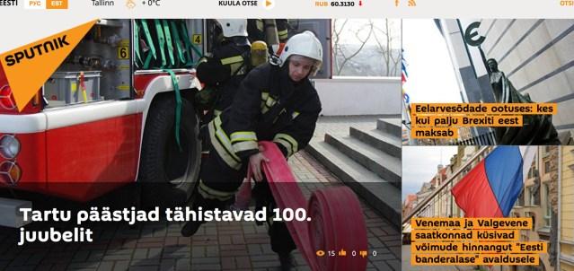 KUUM: Eestis alustab tele- ja raadiokanal Sputnik