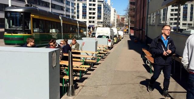 Soomes ei saa õllekruus käes terrassile minna