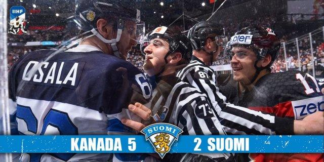 Kanada põrmustas hoki MM-il Soome 5:2