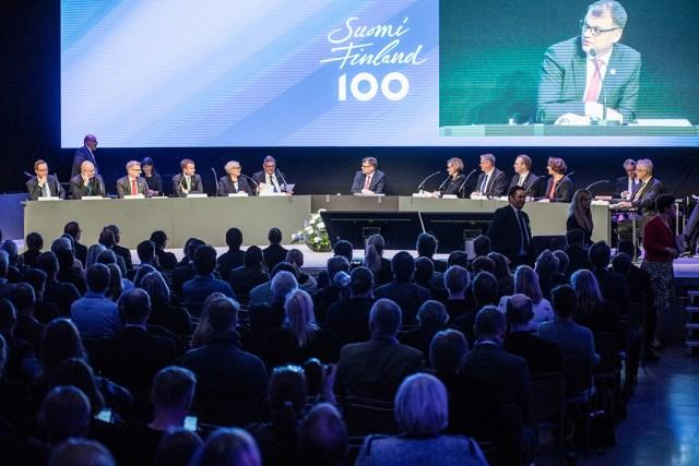 Soome valitsus pidas ajaloo esimese avaliku istungi