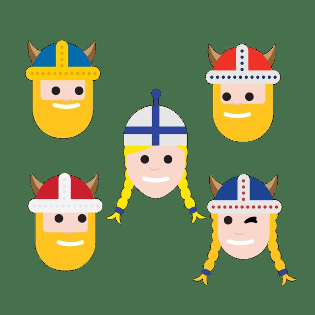 Põhjamaade riigipead on täna Soomes, sel puhul uus emotikon