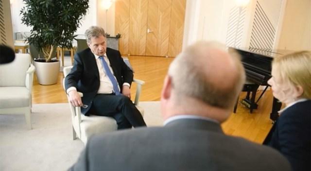 President Niinistö intervjuus: ei usu, et Eestit rünnatakse