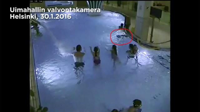 Video sellest, kuidas 5-aastane eesti poiss uppus Helsingi ujulas (nõrganärvilistele mittesoovitav)