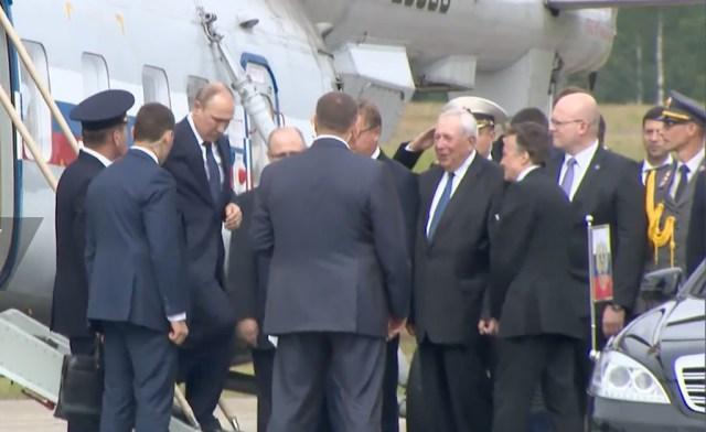 Putin saabus Savonlinna kopteriga. Vaata videot!