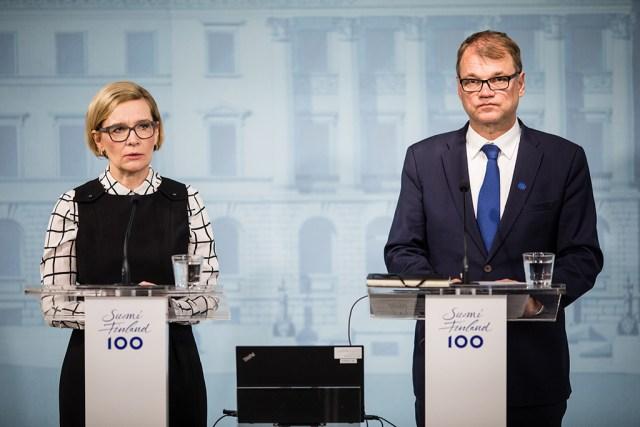 Peaminister Juha Sipilä: suurim mure on see, kui vihale vastatakse vihaga