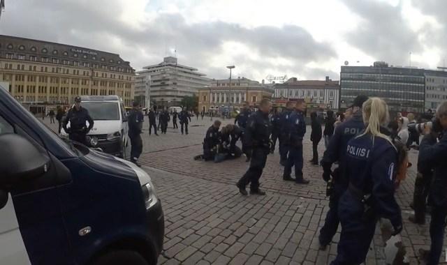 Soome politsei suhtumine pagulastesse on muutunud: nüüd võetakse kinni pagulaste pooldajaid