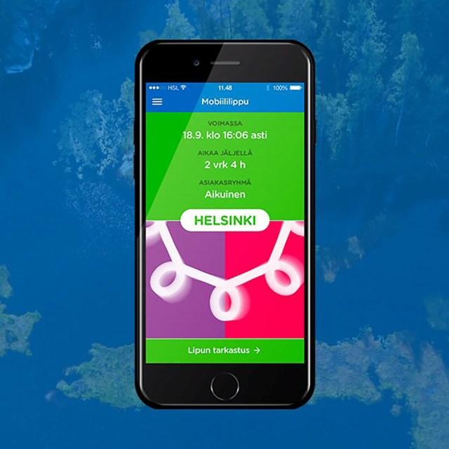 Helsingi bussipileti saab nüüd soodsalt osta telefoni teel