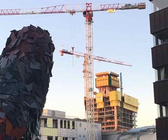 KUUM: Helsingi ehitusobjektil tuvastati 7 koroonaga nakatumist töötajatel, kel puudusid haigusnähud
