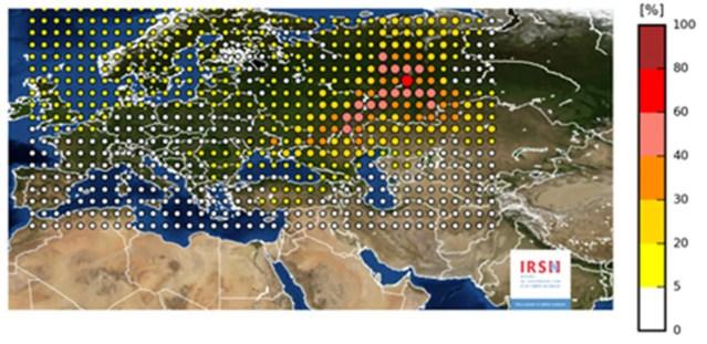 Venemaal või Kasahstanis toimus septembris radioaktiivne õnnetus, saaste kandus Soomeni