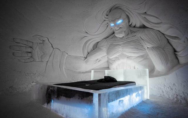 Lapimaal avati Troonide mängu teemaline jäähotell