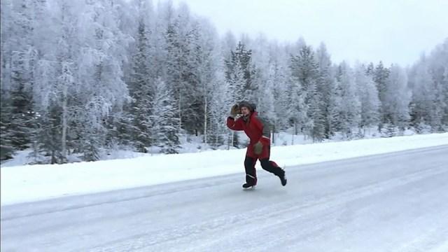 Soome maantee on nii libe, et seal saab uisutada