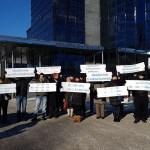 Soome HKScan lõi Rakvere töötajate ees vedelaks – vaata videot eestlaste meeleavaldusest Turus