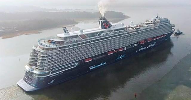 Soome suurim ekspordiartikkel väljus Turu laevatehasest