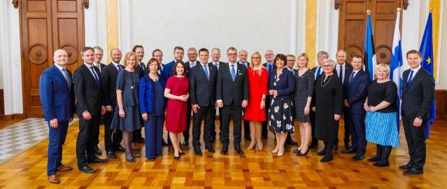 Eesti ja Soome valitsused pidasid Tallinnas ühisistungi