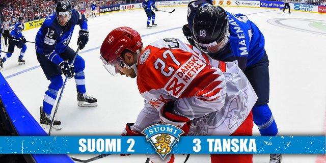 Soomele hoki MMil šokikaotus Taanilt 2:3