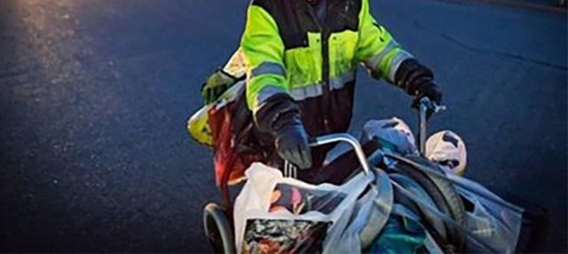 Forssas tapeti 70-aastane pudelikorjaja