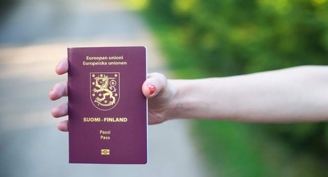 Soome pass on maailmas paremuselt kolmas