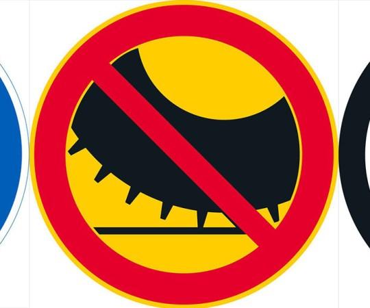 Soomes võetakse kasutusele uued liiklusmärgid