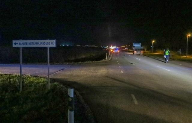 Saaremaal hukkus veokilt löögi saanud soome mees