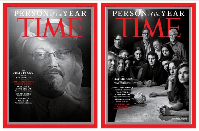 Ajakirja Time aasta inimeseks valiti Jamal Khashoggi ja teised tõe eest seisvad ajakirjanikud