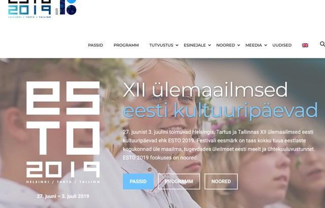ESTO saab alguse Soomest, festivali avab Eesti president