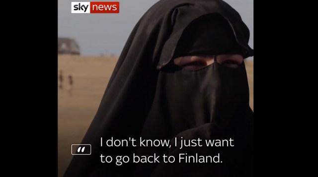 Kahtlus: ISIS aitas laagrist põgenema need naised, kelle Soome riik vastu võttis