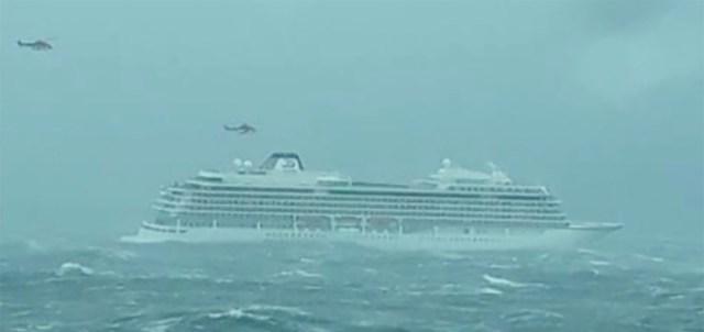 Merehätta sattunud Norra kruiisilaeva kapten on soomlane