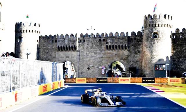 Soomlane Valtteri Bottas võitis F1 Aserbaidžaani GP