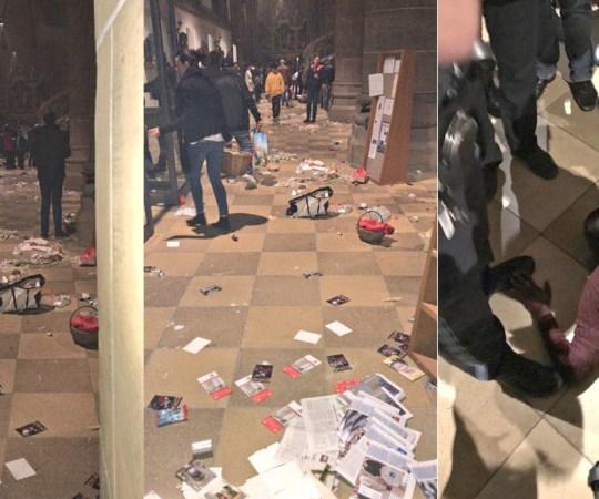 VIDEO: Saksamaal rünnati kirikut, 24 inimest vigastatud